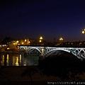 瓜達幾維爾河夜景(伊莎貝二世橋)