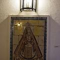 聖母磁磚畫
