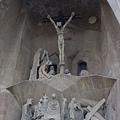 聖家堂受難之門--雕刻家Josep M. Subirachs的雕刻作品