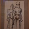 高第設計手稿(鐵甲武士)