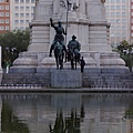 馬德里西班牙廣場--賽萬提斯與唐吉訶德