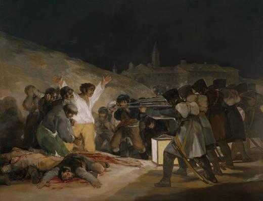 哥雅--1808年5月3日