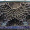大門入口處的蜂巢狀裝飾