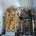 布雷德島上的聖母升天教堂主祭台