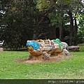 邱吉爾島--現代雕塑