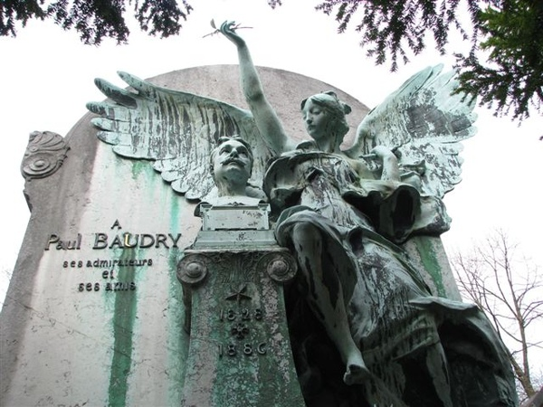 法國學院派畫家--保羅包德立之墓