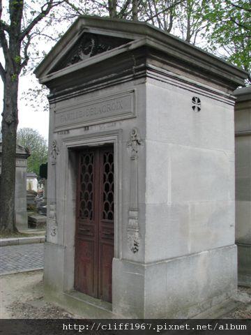 法國浪漫派畫家--德拉克瓦之墓