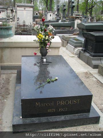 追憶似水年華--法國作家--布魯斯特之墓