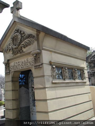法國作曲家--聖桑之墓