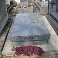 等待果陀劇作家--貝克特之墓