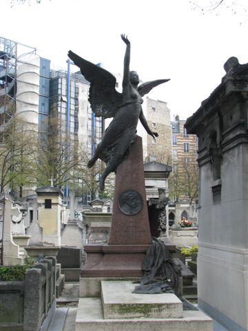 自由女神設計者--巴索迪之墓