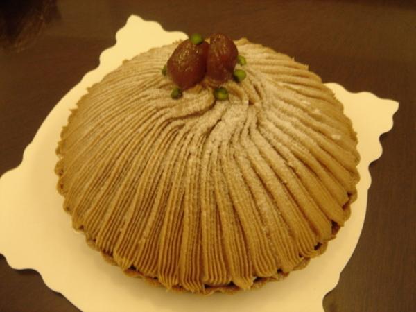 蒙布朗~好吃栗子蛋糕