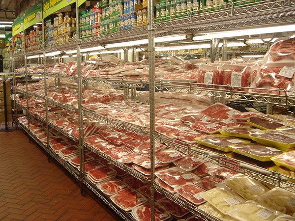 超市冷凍庫