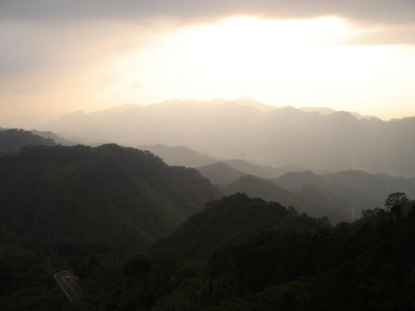 苗栗仙山之夕陽無限好