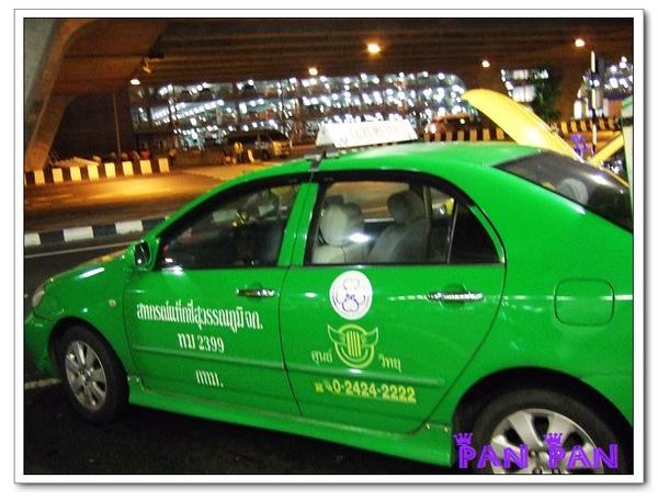 泰國第一台計程車