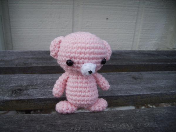 粉紅迷你熊