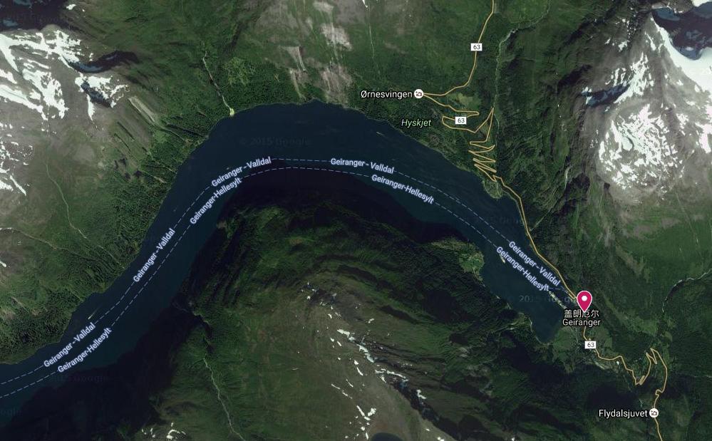 蓋倫格衛星圖
