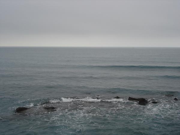 北海岸的海