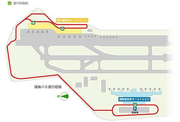 褔岡空港搖擺車路線