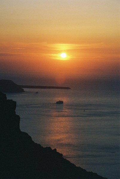 大海-夕陽