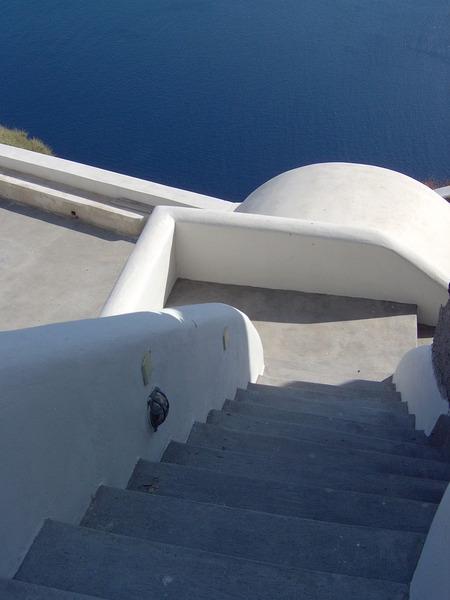通往大海的樓梯