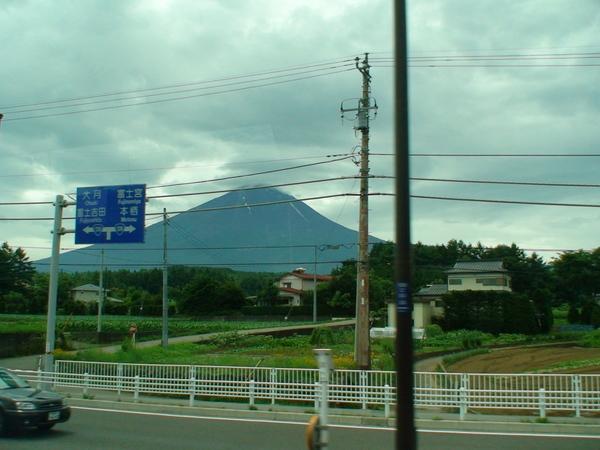往富士山的路上