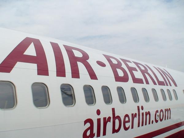我們搭乘的柏林航空