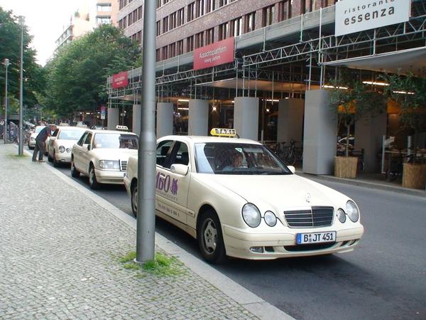 柏林全是賓士計程車