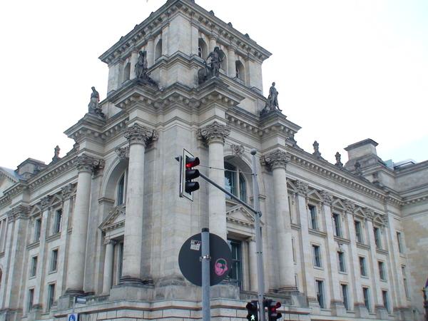柏林市政廳一隅