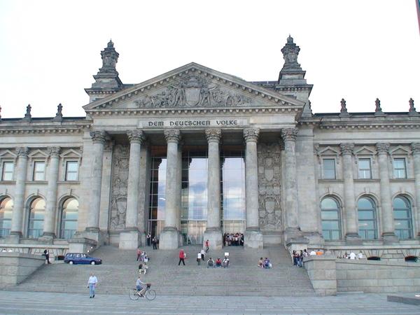 柏林市政廳大門