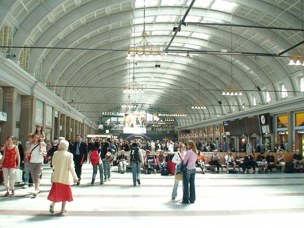 斯德哥爾摩中央火車站