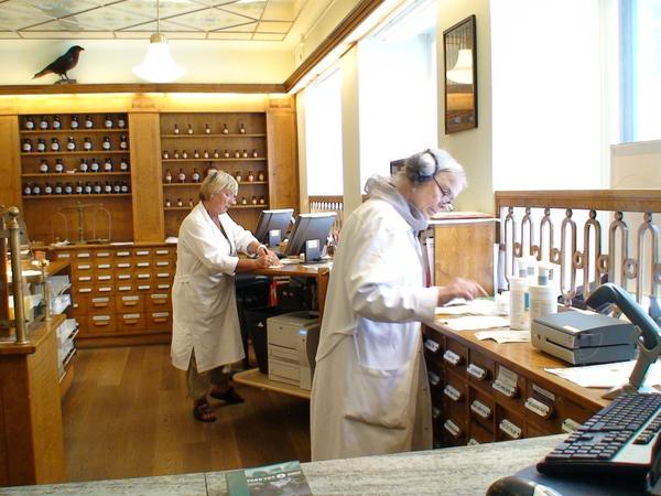最古老的藥房Raven Pharmacy