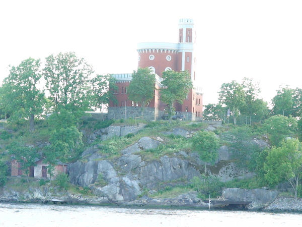 小島上的城堡
