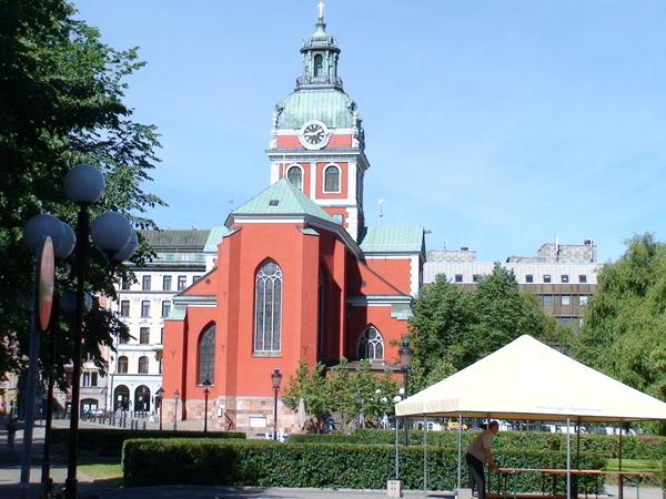 公園邊的教堂