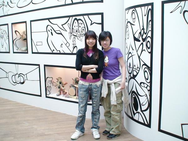 日本藝術家像漫畫一樣的創作