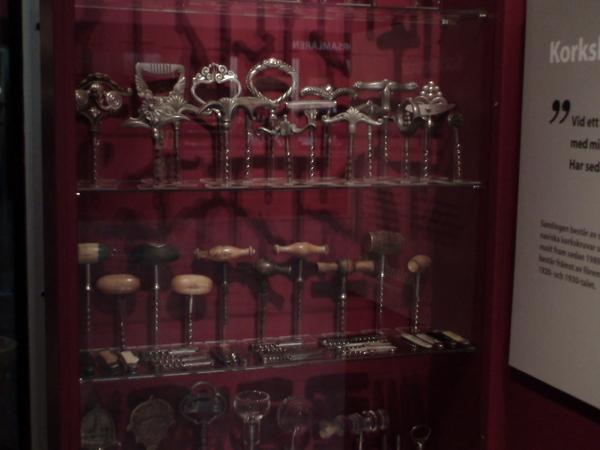 國家博物館的收藏家展覽--各式紅酒開瓶器