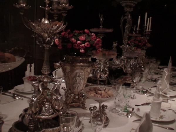 豪華的餐具