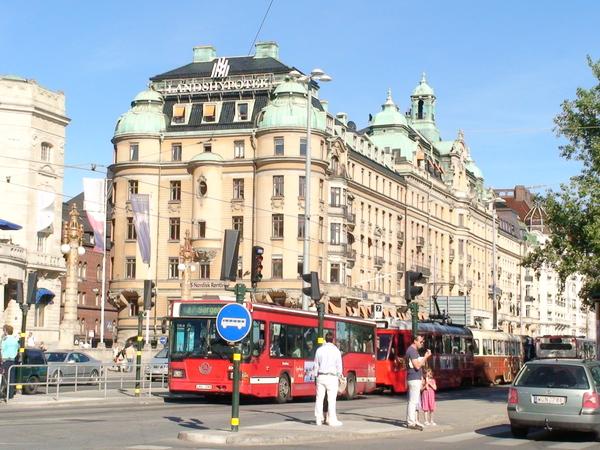 斯德哥爾摩街頭風景