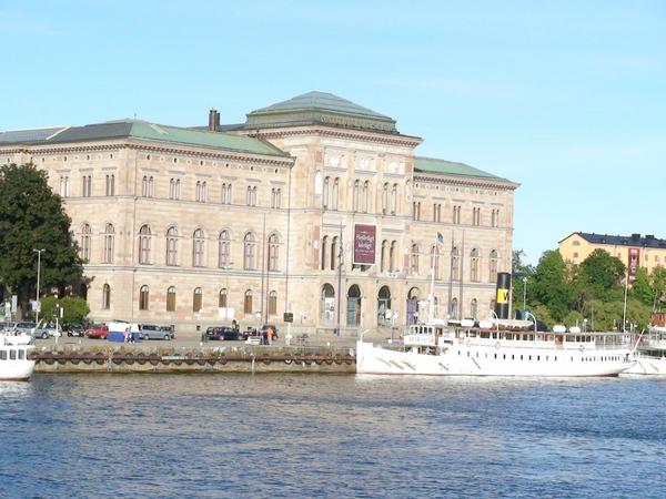 遠眺國家博物館