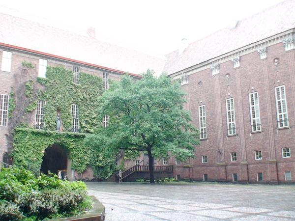 市政廳中庭