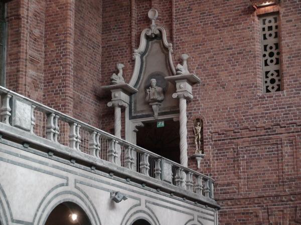 藍廳上方的迴廊