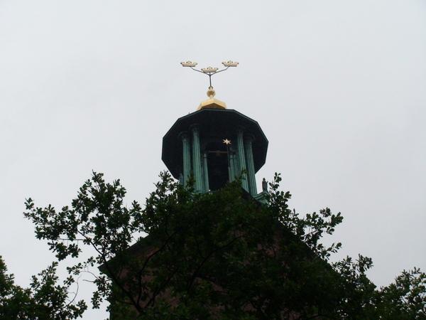 市政廳屋頂的3皇冠