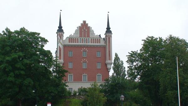 城堡模樣的建築