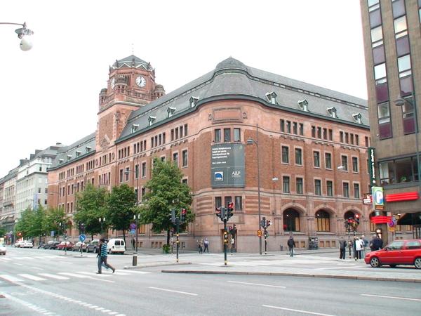 斯德哥爾摩街頭