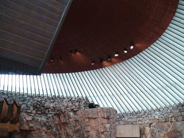 石洞大教堂的銅線屋頂