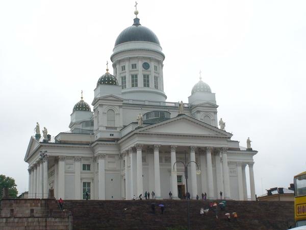 雨中的尼古拉大教堂