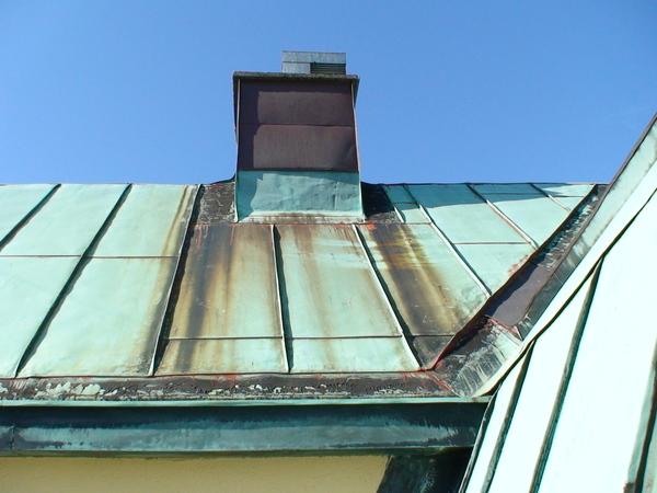 銅製的屋頂
