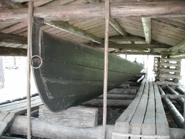 古時候的芬蘭船