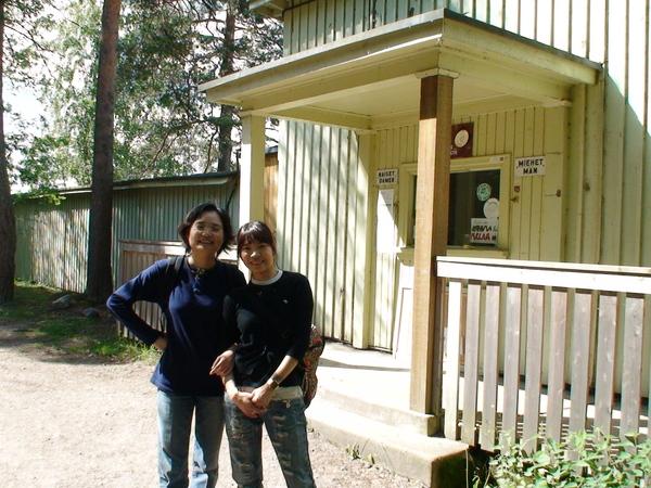 誤闖天體營的兩姊妹--花了2歐進去天體營上廁所