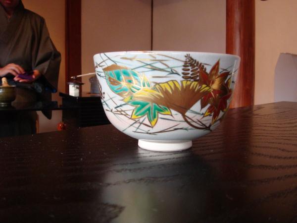 銀杏葉的茶碗